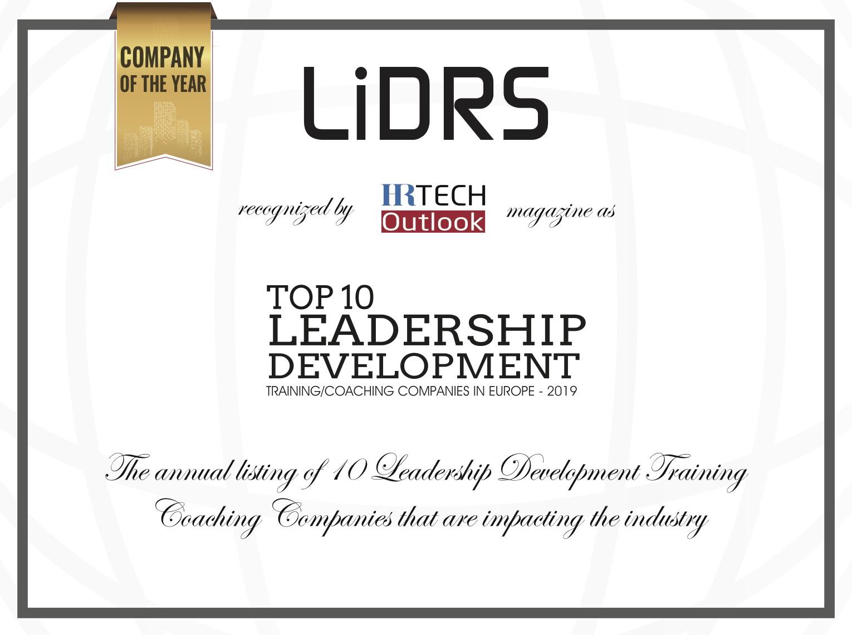 LiDRS award